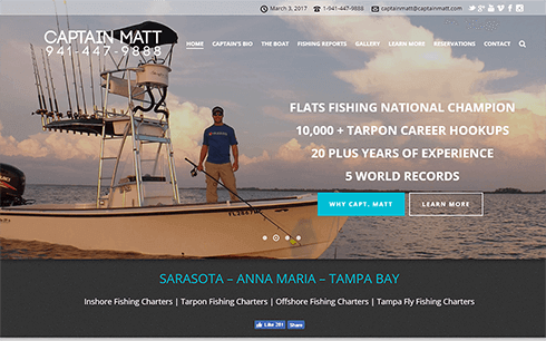 Captain Matt Fishing Charters