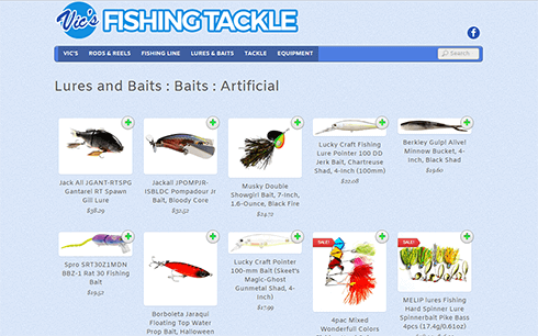 Vics Fishing Tackle